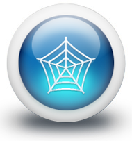 glossy-3d-blue-web-icon